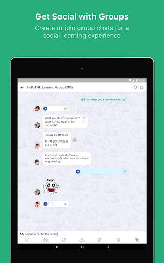 HelloTalk Learn Languages Free 2.5.2 screenshots 15