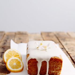 Vegan Lemon Pound Cake.