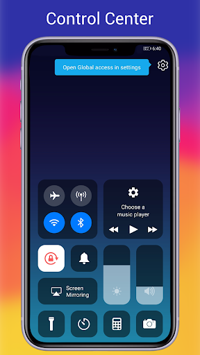 OS14 Launcher, Control Center, App Library i OS14 screenshot 4