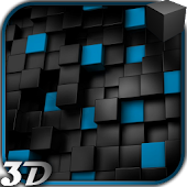 3D Cube Video Live Wallpaper