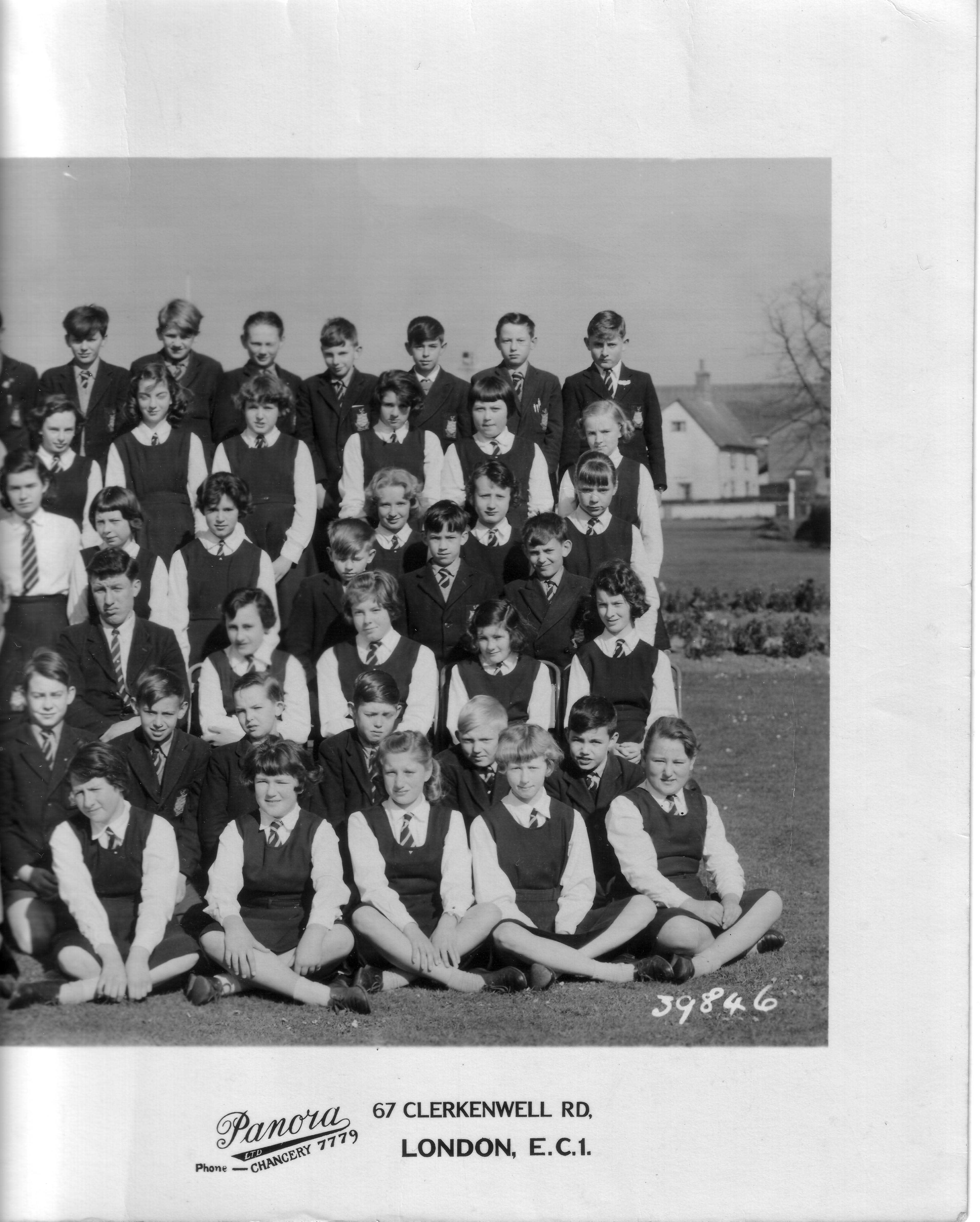 Photo: DGS - 1961 - Outer Right - 5/5. (Thanks to Nigel Barber 1954-61).