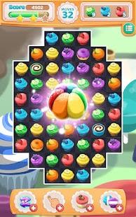 Crazy Cupcake Match 3 - náhled