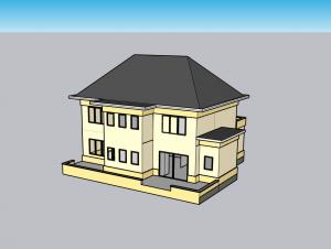 voir un modèle sous différents angles sur Sketchup