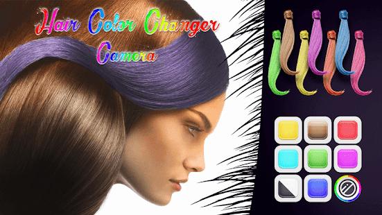 Barva Vlasů Úprava Fotek - náhled