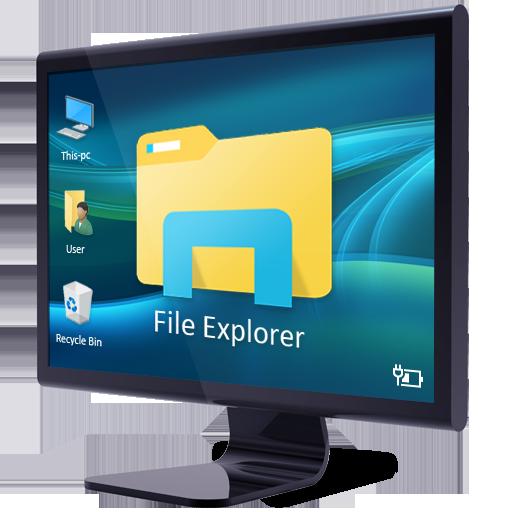 File Explorer and Manager 生產應用 App LOGO-APP試玩