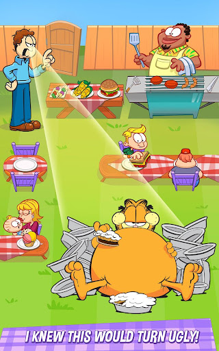 Garfield: My BIG FAT Diet screenshot 8