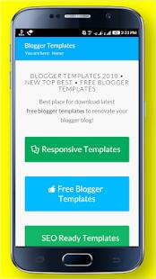 Blogger Templates - náhled