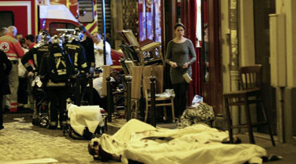 Black Friday in Paris, 120 killed