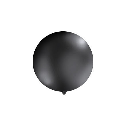 Jätteballong Svart