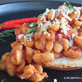 Jamie Oliver's Beans on Toast