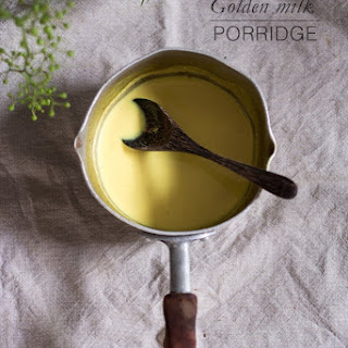 Golden Milk Porridge.