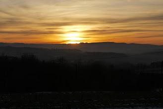 Photo: Tatry o zachodzie słońca w Lisowie