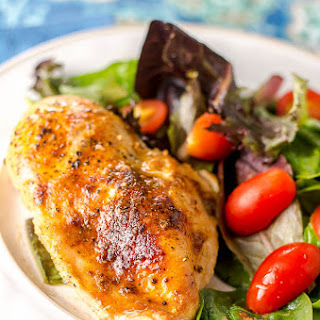 Easy Skillet Chicken Breast Weeknight Dinner.
