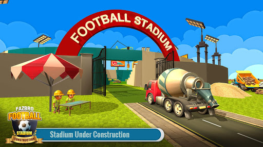 Football Stadium Builder Construction Crane Game 2.0.1 screenshots 3