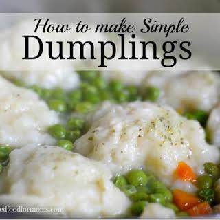 How to Make Simple Dumplings.