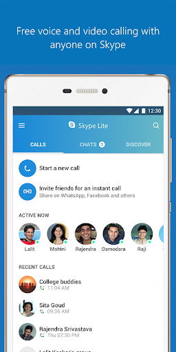 Skype Lite - Free Video Call & Chat 1.79.0.1 screenshots 2