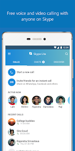 Skype Lite – Free Video Call & Chat 2