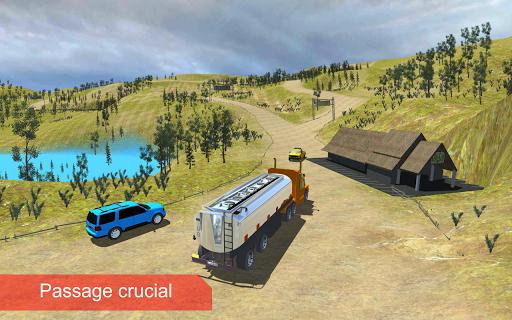 pétrole cargo camion au volant APK MOD (Astuce) screenshots 1