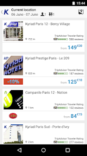 Kyriad, hotel booking- screenshot thumbnail