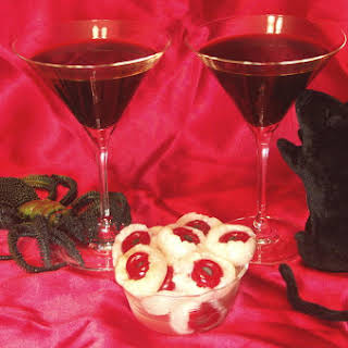 Black Martinis with Devil's Eyeballs – Welcome To The #GreatHallowTweet!.