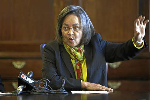 Cape Town mayor Patricia de Lille. Picture: THE TIMES