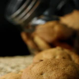 Banana Cashew Chocolate Chip Cookies.