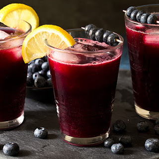Sparkling Blueberry Lemonade.