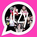 ITZY WAStickerApp Kpop Idol for Whatsapp icon