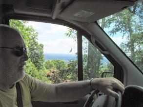Photo: Terry W8ZN at the wheel of K8GP / Rover - ARRL June VHF 2014 - Sat. Morning - FM18dv