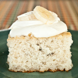 Banana Whip Cream Cake