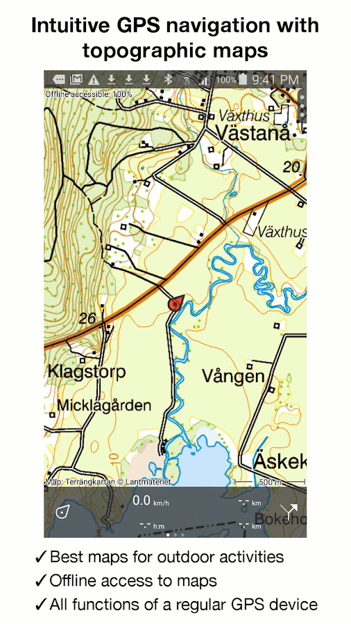 Topo GPS Sweden Android Apps On Google Play - Sweden map topographic