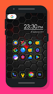 Mee Dark - Icon Pack Screenshot