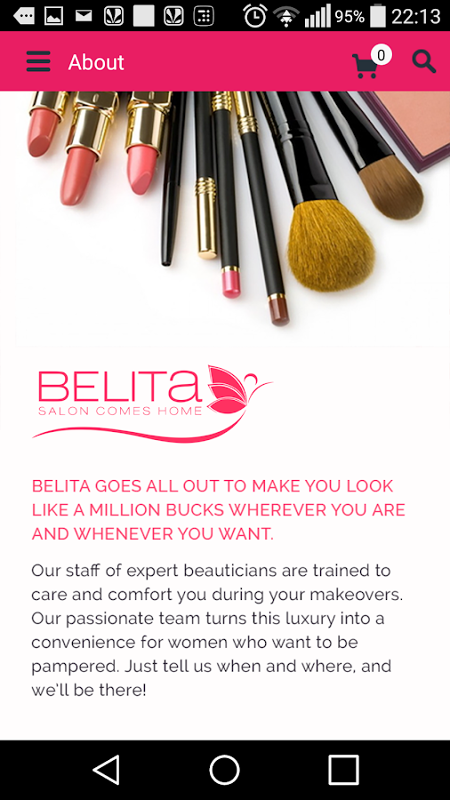 BELITA – Salon Comes Home- screenshot