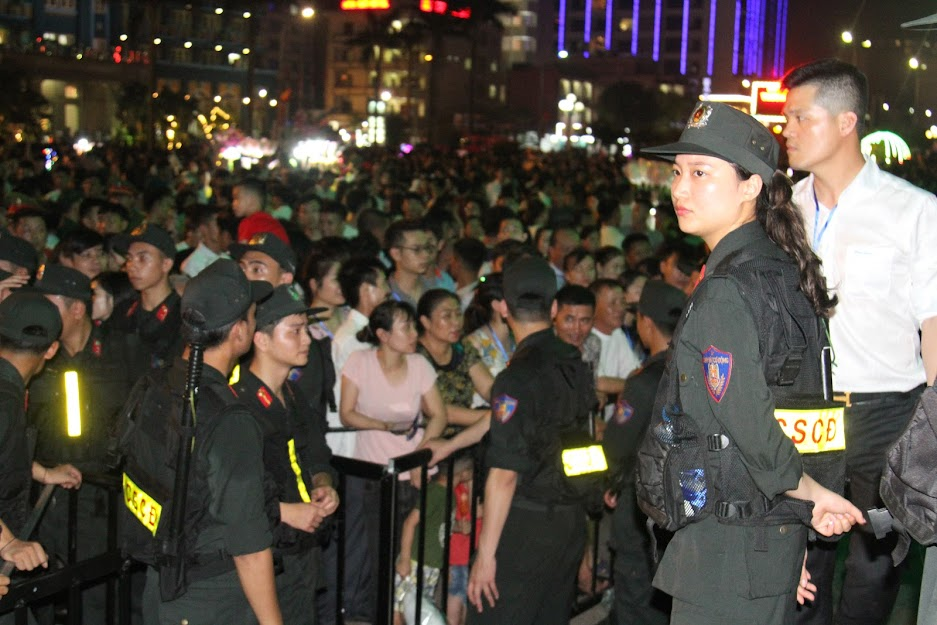 Lực lượng Công an được huy động tối đa nhằm đảm bảo tốt ANTT cho Lễ hội