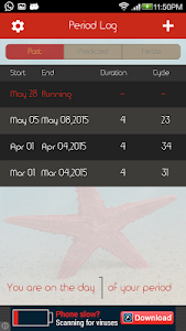 Period Monitor screenshot 7