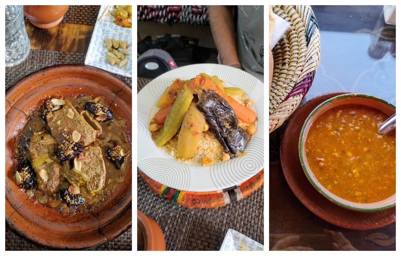 platos típicos comida marroquí