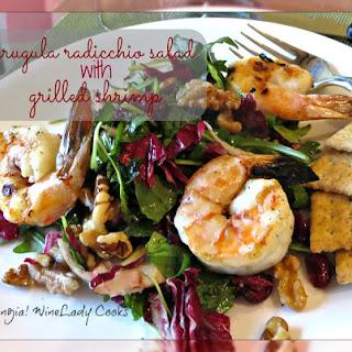 Arugula Salad With Grilled Shrimp