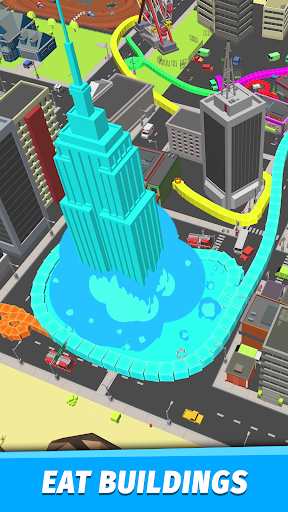 Capturas de pantalla de Boas.io Snake vs City 2