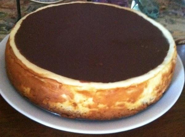 Super Duper  Boston Cream Cheesecake. Recipe