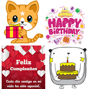 stickers happy birthday for whatsapp for PC / Windows 7, 8