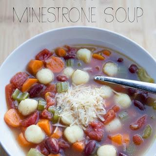 GnocchiMinestrone Soup