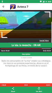 Mexico TV EPG Free Screenshot