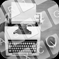 White Type Writer Keyboard