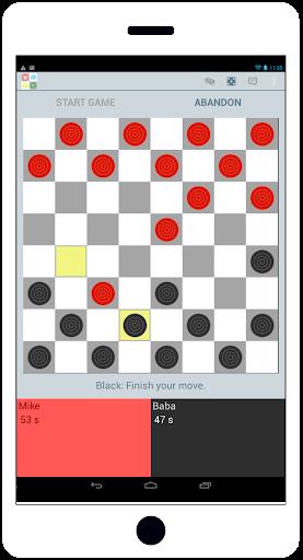 在綫西洋跳棋 Play Chat
