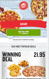 Pizza Hut Delivery - Ireland- screenshot thumbnail