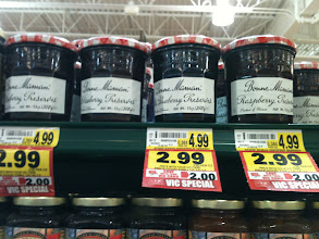 Photo: My new favorite jelly. I've only found it here and today on sale! I'm going to try raspberry this time.