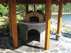Photo: Latest oven now complete. Other photos of this build can be seen at https://picasaweb.google.com/waynebergman/AMS42PompeiiOven#