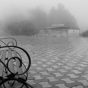 gloomy afternoon by Riju Banerjee - City,  Street & Park  Street Scenes