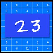 Number 23 mathematical tetris