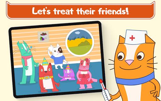 Cats Pets Animal Doctor Games for Kids! Pet doctor  screenshots 16